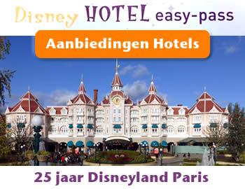 Boek op tijd je hotel in Disneyland Paris