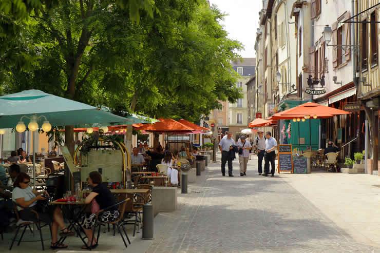 Troyes, de hoofdstad van Aube