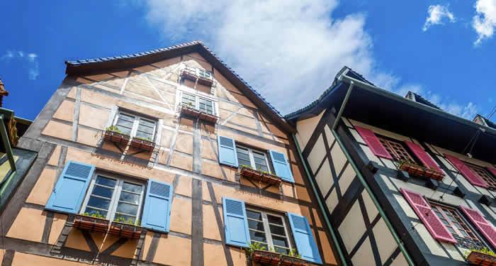 Tips over Colmar in de Elzas