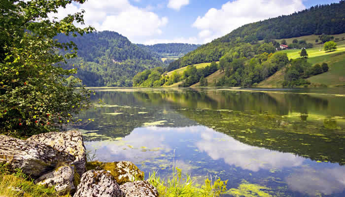 Ongerepte natuur in Franche-Comté