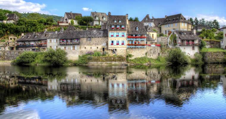 Rivieren en mooie dorpen