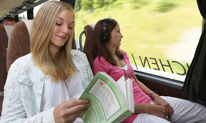 Bus naar Frankrijk
