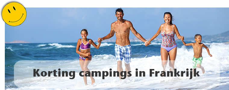 Kortingen campings Frankrijk