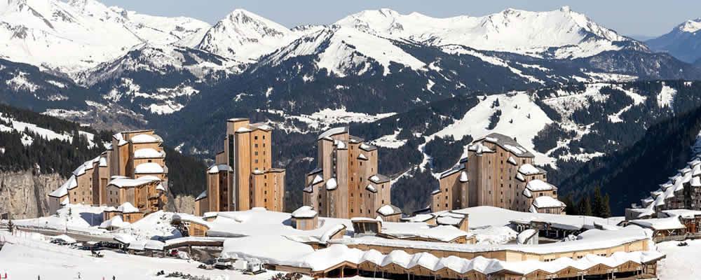 Luxe wintersport Frankrijk