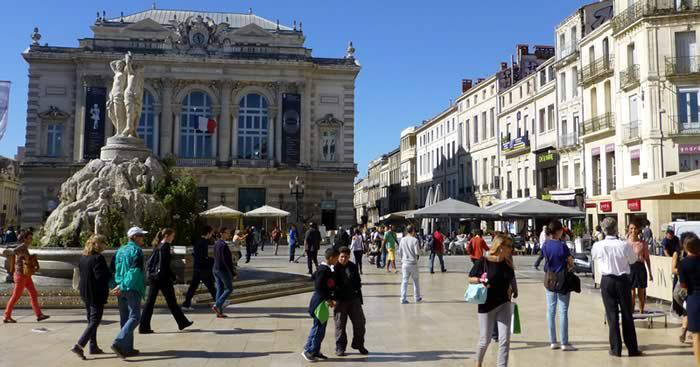 Stedentrip Montpellier