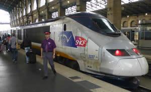 Trein Zuid-Frankrijk