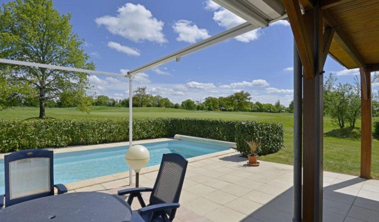 Prive zwembad van L'Aveneau - Vieille Vigne